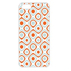 Pattern Background Abstract Apple iPhone 5 Seamless Case (White)