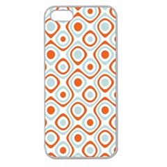 Pattern Background Abstract Apple Seamless iPhone 5 Case (Clear)