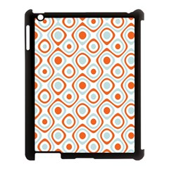 Pattern Background Abstract Apple iPad 3/4 Case (Black)