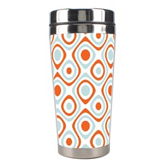 Pattern Background Abstract Stainless Steel Travel Tumblers