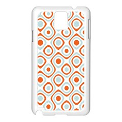 Pattern Background Abstract Samsung Galaxy Note 3 N9005 Case (White)