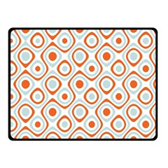 Pattern Background Abstract Double Sided Fleece Blanket (Small)