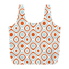 Pattern Background Abstract Full Print Recycle Bags (L)