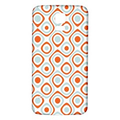 Pattern Background Abstract Samsung Galaxy S5 Back Case (White)
