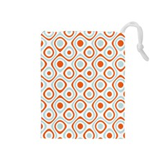 Pattern Background Abstract Drawstring Pouches (Medium)