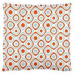 Pattern Background Abstract Large Flano Cushion Case (one Side)