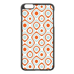 Pattern Background Abstract Apple iPhone 6 Plus/6S Plus Black Enamel Case