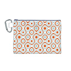 Pattern Background Abstract Canvas Cosmetic Bag (m)