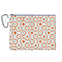 Pattern Background Abstract Canvas Cosmetic Bag (XL)