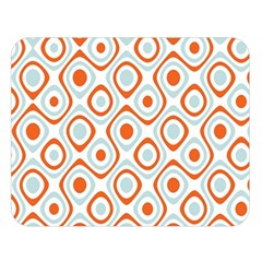 Pattern Background Abstract Double Sided Flano Blanket (large)