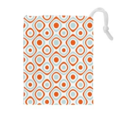 Pattern Background Abstract Drawstring Pouches (Extra Large)