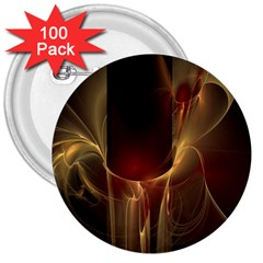 Fractal Image 3  Buttons (100 pack)