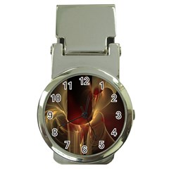 Fractal Image Money Clip Watches