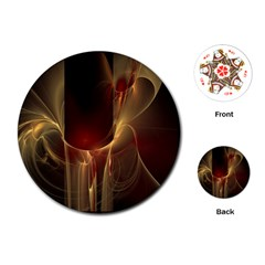 Fractal Image Playing Cards (round)