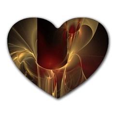 Fractal Image Heart Mousepads