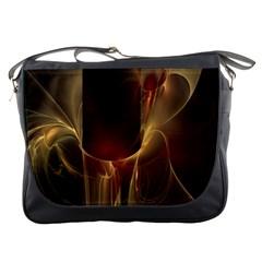Fractal Image Messenger Bags