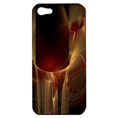 Fractal Image Apple iPhone 5 Hardshell Case
