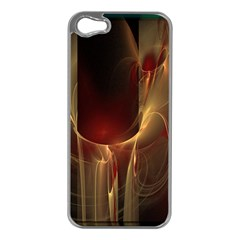 Fractal Image Apple Iphone 5 Case (silver)