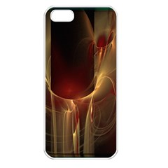 Fractal Image Apple iPhone 5 Seamless Case (White)