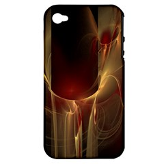 Fractal Image Apple iPhone 4/4S Hardshell Case (PC+Silicone)
