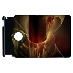 Fractal Image Apple iPad 3/4 Flip 360 Case