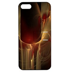 Fractal Image Apple iPhone 5 Hardshell Case with Stand