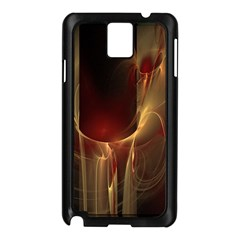 Fractal Image Samsung Galaxy Note 3 N9005 Case (Black)