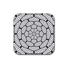 Grillage Rubber Coaster (Square)