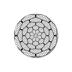 Grillage Magnet 3  (round)
