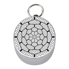 Grillage Mini Silver Compasses