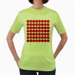 Icon Library Web Icons Internet Social Networks Women s Green T Shirt