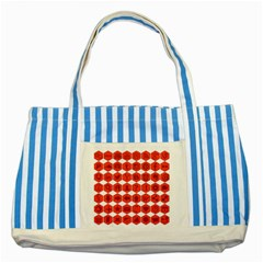 Icon Library Web Icons Internet Social Networks Striped Blue Tote Bag