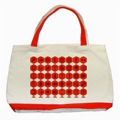Icon Library Web Icons Internet Social Networks Classic Tote Bag (Red)