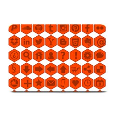 Icon Library Web Icons Internet Social Networks Plate Mats