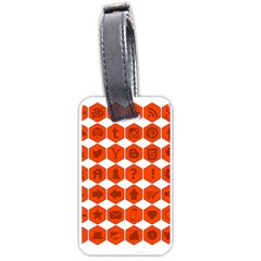 Icon Library Web Icons Internet Social Networks Luggage Tags (One Side)