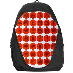 Icon Library Web Icons Internet Social Networks Backpack Bag