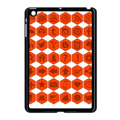 Icon Library Web Icons Internet Social Networks Apple iPad Mini Case (Black)