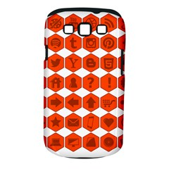 Icon Library Web Icons Internet Social Networks Samsung Galaxy S III Classic Hardshell Case (PC+Silicone)
