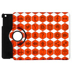 Icon Library Web Icons Internet Social Networks Apple iPad Mini Flip 360 Case