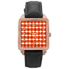 Icon Library Web Icons Internet Social Networks Rose Gold Leather Watch