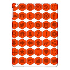 Icon Library Web Icons Internet Social Networks iPad Air Hardshell Cases