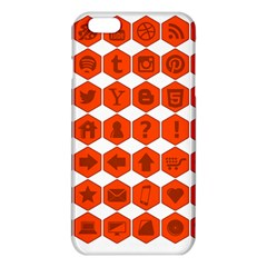 Icon Library Web Icons Internet Social Networks iPhone 6 Plus/6S Plus TPU Case