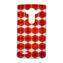 Icon Library Web Icons Internet Social Networks Lg G4 Hardshell Case