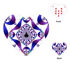 Ring Segments Playing Cards (Heart)