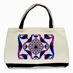 Ring Segments Basic Tote Bag (Two Sides)