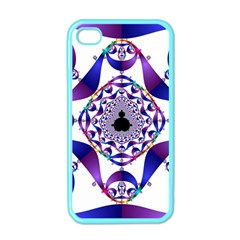 Ring Segments Apple Iphone 4 Case (color)