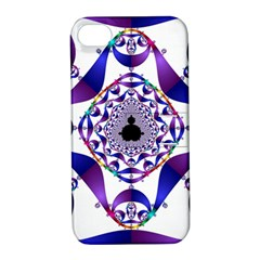 Ring Segments Apple iPhone 4/4S Hardshell Case with Stand