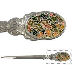 Floral Pattern Background Letter Openers
