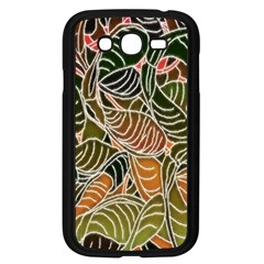 Floral Pattern Background Samsung Galaxy Grand Duos I9082 Case (black)