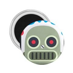Robot Emoji 2.25  Magnets